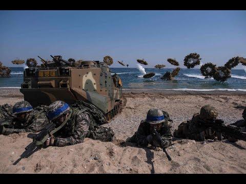 US, South Korea's joint amphibious landing drill