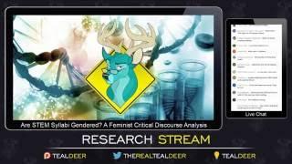 tl dr are stem syllabi gendered impromptu research stream