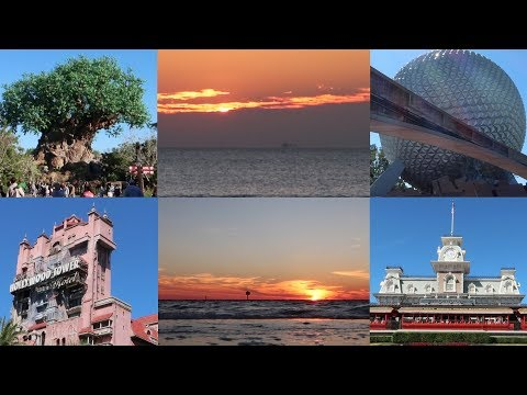 The Florida Coast To Coast 4 Park Disney Challenge Sunrise To Sunset!