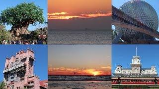 The Florida Coast To Coast 4 Park Disney Challenge Sunrise To Sunset!
