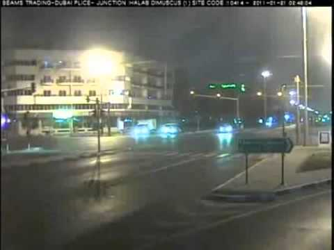 Traffic Accidents Caught On CCTV Cameras in Dubai