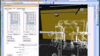 Navisworks Manufacturing 2010 Tech Tip Movie - clash point with point cloud