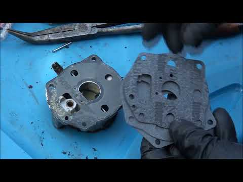 HOW TO Rebuild a BRIGGS and STRATTON Twin Cylinder CARBURETOR  All  Horsepower NOT OHV