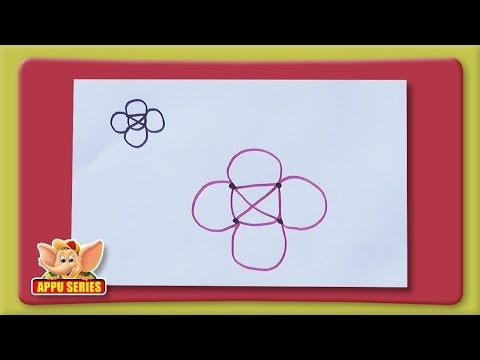 Famous Tricky Puzzle - Draw the Pattern