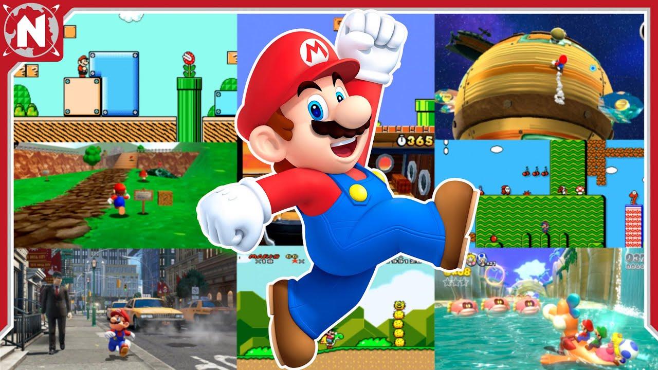 El MEJOR NIVEL de CADA JUEGO de Super Mario