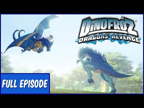 Dinofroz Dragons' Revenge | Return to the Past World - Ep.1 | Cartoons for Kids