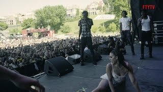 NLE Choppa INVADES Memphis In May Festival + Twerk Contest & Dedication To His Mom YouTube Videos