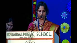 Warangal Public School Annual Day (Junior School) Celebrations