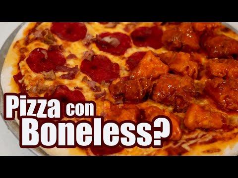 PIZZA con BONELESS   Receta 2 en 1   TOQUE Y SAZON