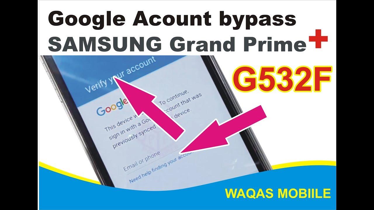 WAQAS MOBILE CENTER KINGRA: Samsung grand prime G532f reset frp