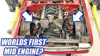 Mid-Engine S10?! Building The Ultimate Truck Ep.3 V8 TT AWD M6 S10