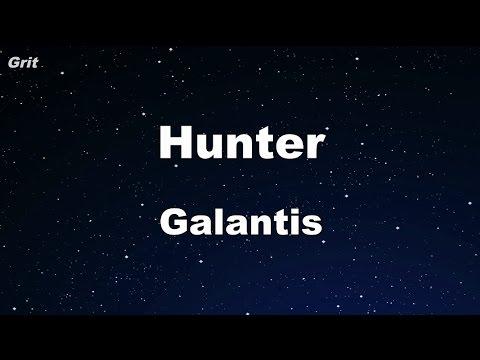 Hunter - Galantis Karaoke 【No Guide Melody】 Instrumental