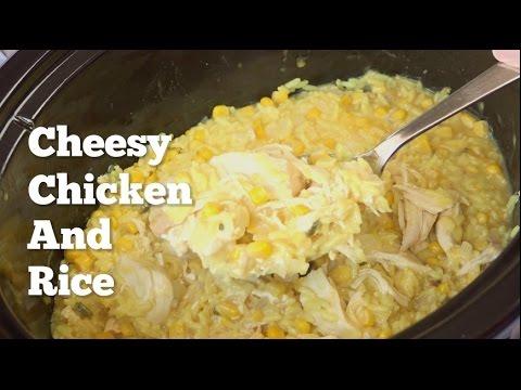 cheesy rice crock pot recipe
