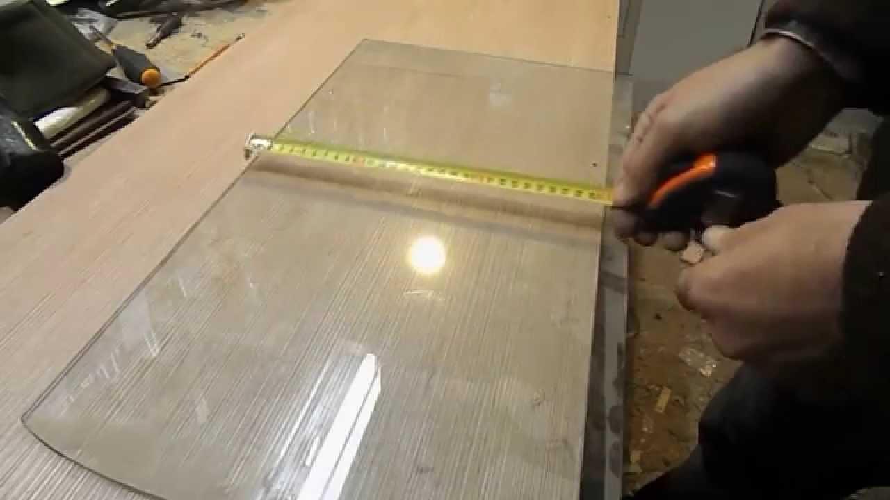 Полка стекло своими руками