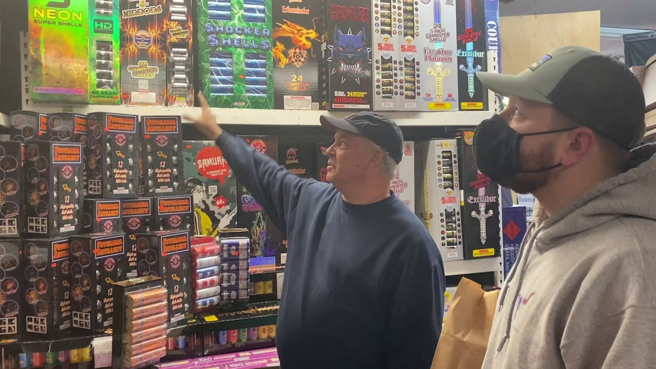 31 YEARS OF SHOPPING AT CASEYS FIREWORKS