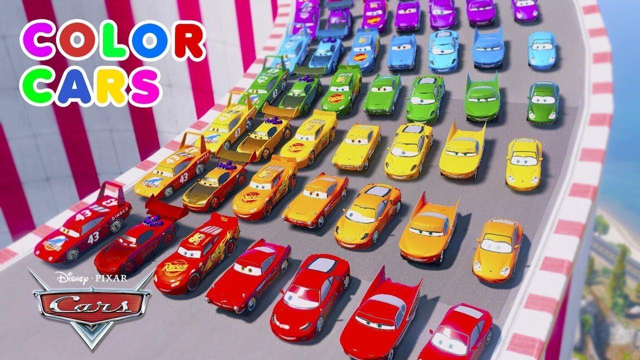 Cruz Ramirez Color Cars 3 Macuin Disney McQueen hauler Cars (Carros) Mack Truck Stream Mack Truck