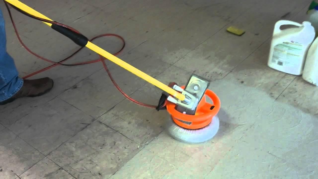 Redneck floor cleaning machine  YouTube