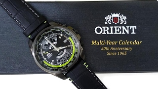 (Mở hộp & HDSD) Orient Multi-Years Calendar Limited Edition 0786 / 2000