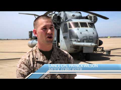 Clear skies: Marines forecasters predict future