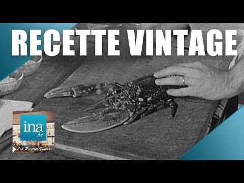 Recette : Homard sauté à la Normande   Archive INA