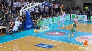 First LaMelo Ball highlight on the court in Lithuania