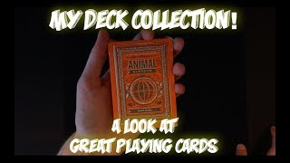 My Deck Collection! (you guys asked for it)