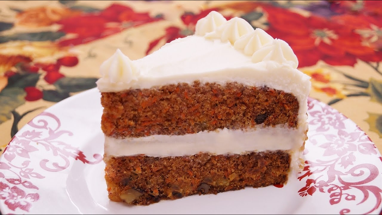 Carrot Cake Recipe How To Make Carrot Cake From Scratch Diane