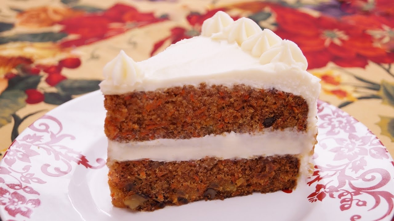Cake Recipes In Otg Youtube: Carrot Cake Recipe: How To Make Carrot Cake: From Scratch