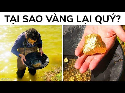 Vàng Không Hiếm Như Bạn Nghĩ, Vậy Tại Sao Nó Lại Đắt