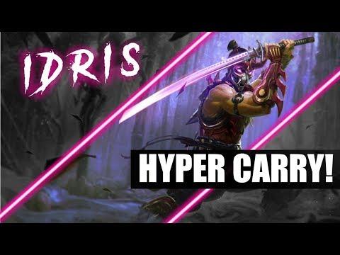 Idris Bot Lane! - Weapon Power Idris Is Broken! - Vainglory 5v5