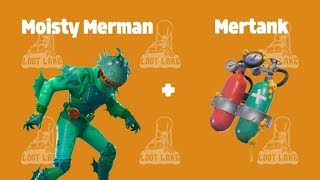 New Moisty Merman Skin Gameplay! - (Fortnite: Battle Royale)