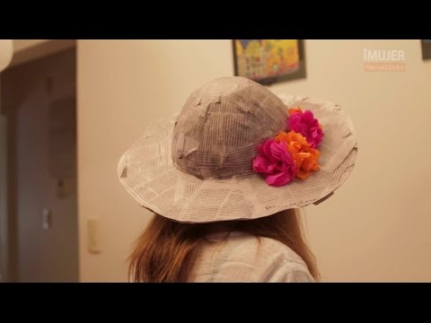 931dbee22d346 Sombrero de papel maché