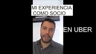 Mi experiencia en UBER como socio - Lo bueno, lo malo y lo curioso