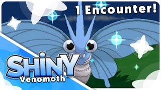 [Live] Shiny Venomoth in 1 Encounter!!