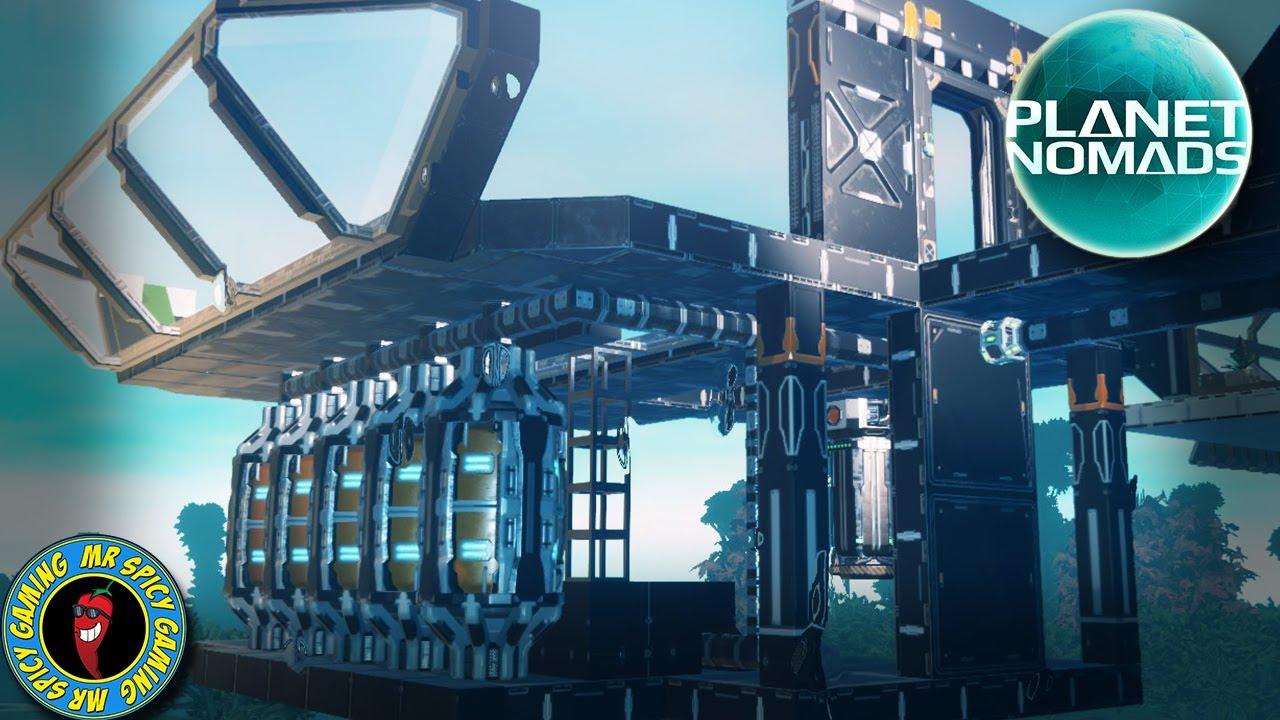 NOVA CENTRAL DE CONSTRUÇÃO PT. 1 - Planet Nomads gameplay S2 Ep24 + vídeo