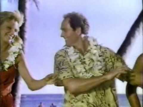 American Airlines/Hawaii tourism ad from 1980