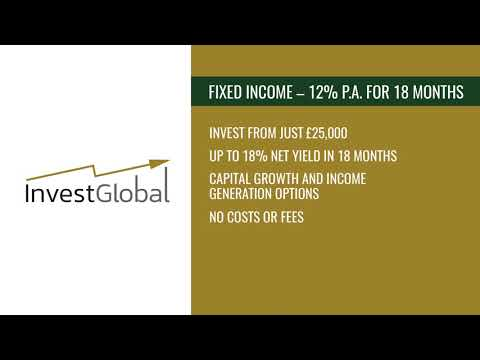Asset Backed Bond – 18% NET YIELD over 18 months – Pension Fund possibility