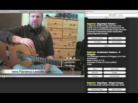 Flamenco-Lessons.com - Flamenco Guitar Lessons Part 1