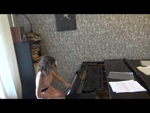 Бетховен. 9 вариаций на тему Прекрасной мельничихи Паизиелло. Ася Вахтина.