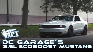 DC Garage's 3.5L Ecoboost Swapped Mustang