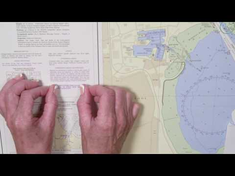 Inserting a note onto an ADMIRALTY Standard Nautical Chart