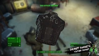 Fallout 4 - BOS Officer Uniform - Best looking outfit imo see notes if on YouTube app