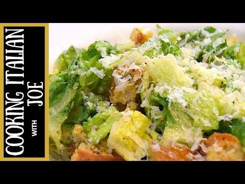 How to Make Caesar Salad Cooking Italian with Joe