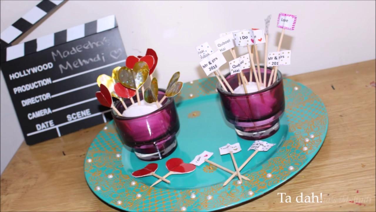 Diy Wedding Party All Occasions Table Decor Dessert Mithai Sticks