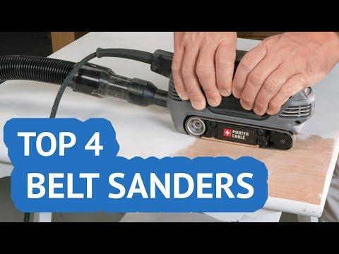 TOP 4: Belt Sanders 2018