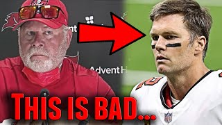 Tom Brady & Bruce Arians are Not Getting Along... & The Reason Why is Obvious (Tampa Bay Buccaneers)