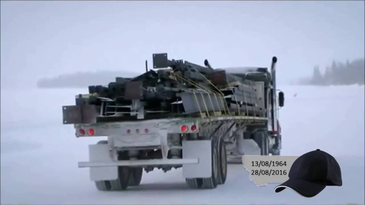 caminhoneiros do gelo dublado