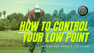 Golf Lessons - Controlling The Low Point Of The Golf Swing