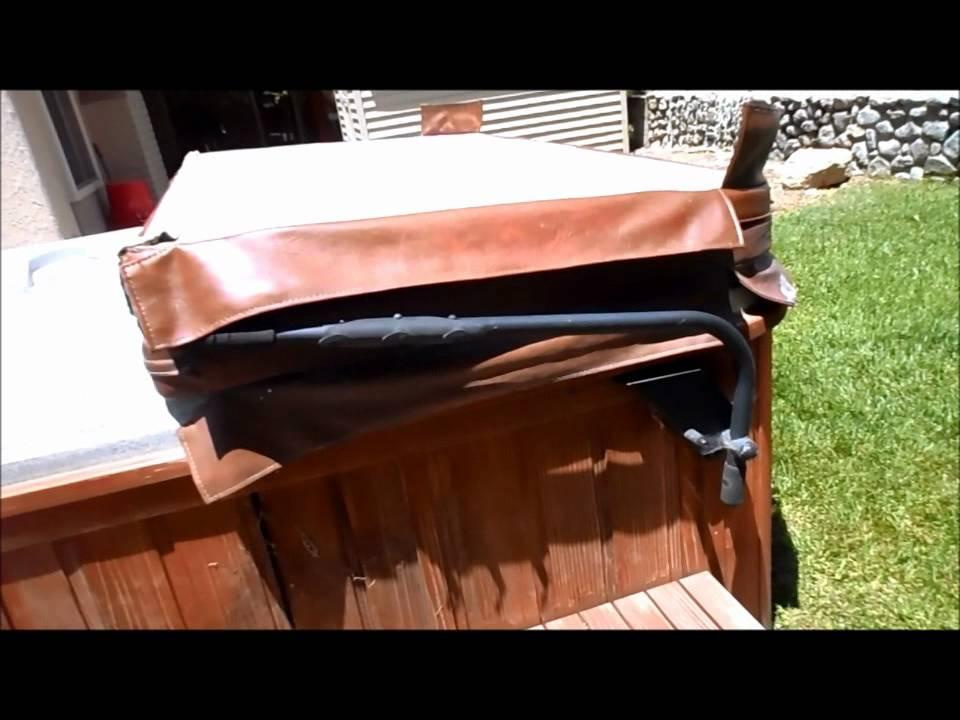 gazeebo lifter shelter spas tub northern hot cover bullfrog accessories cabana utah escape
