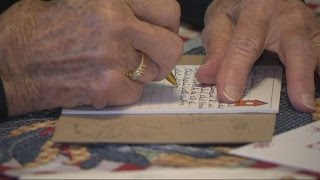 98-Year-Old Grandma Writes Nearly 7,000 Letters to Soldiers Since WWII